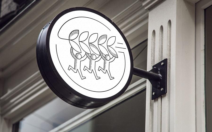 панель-кронштейн или двухсторонний световой короб
