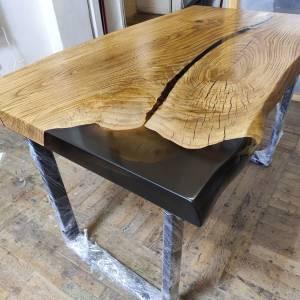Слэб дуб. мебель из массива и слэбов,смола столешница эпоксидный,стиль лофт мебель