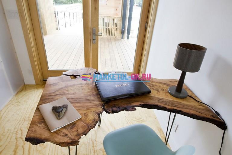 Почему слэбы из дерева — идеальное решение для интерьера