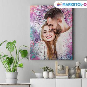 купить фото на холсте , картина со своим фото